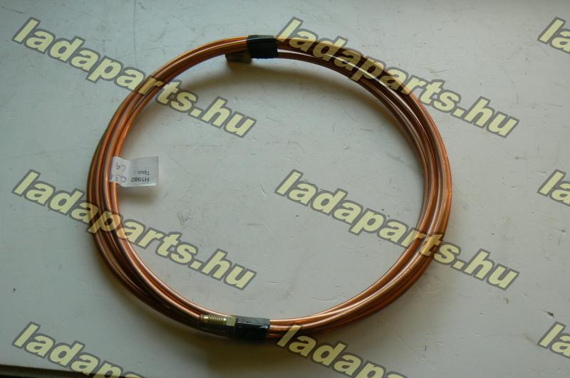 fékcső fém hosszú /szervós/  réz