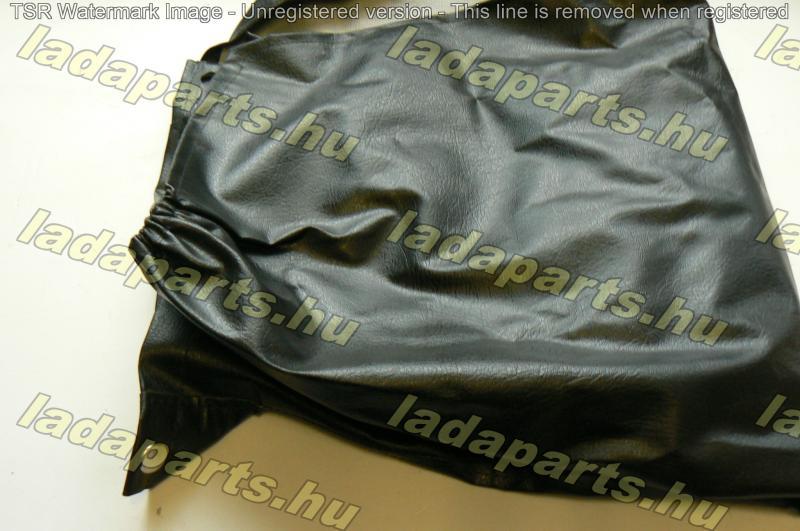 pótkerék műbőr takaró fekete orosz