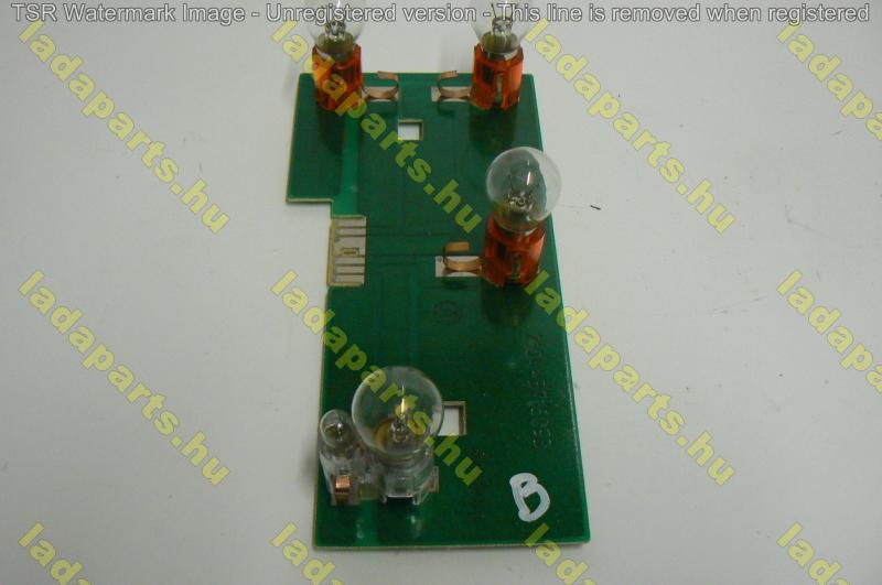 hátsó lámpa panel bal