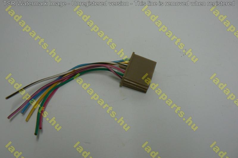 hátsó lámpa csatlakozó vezeték