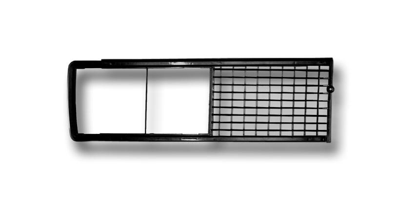 hűtőrács fekete fém (gyári)
