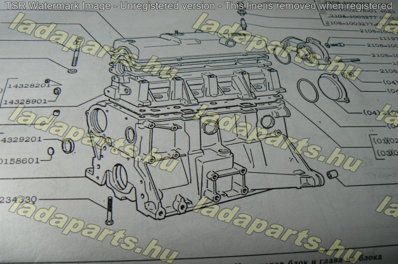 motorblokk Samara 1300 cm3