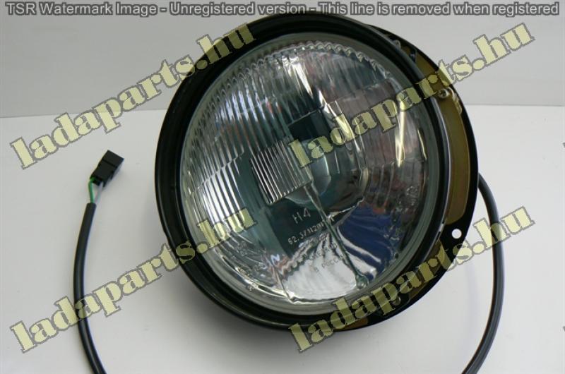fényszóró komplett /állítható/ gyári