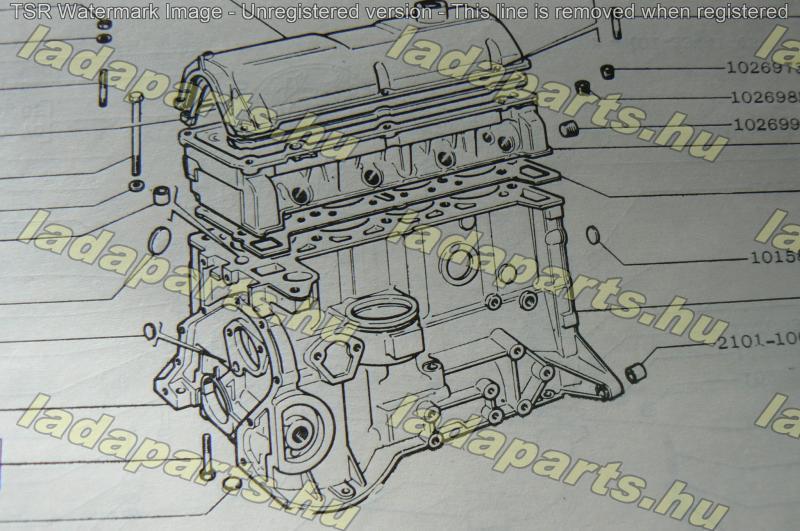 motorblokk 21214 1.7 Avtovaz
