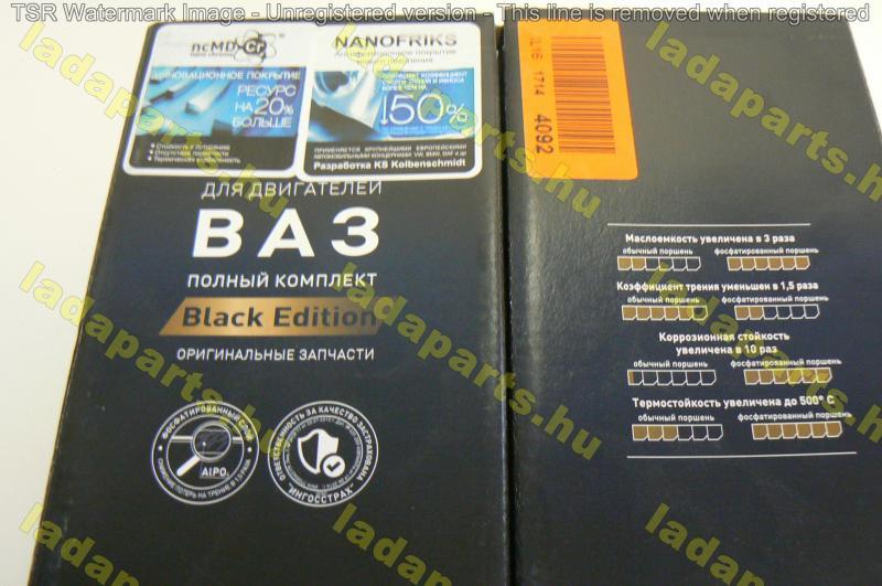 dugattyú garnitúra 82,0mm (Black Edition)