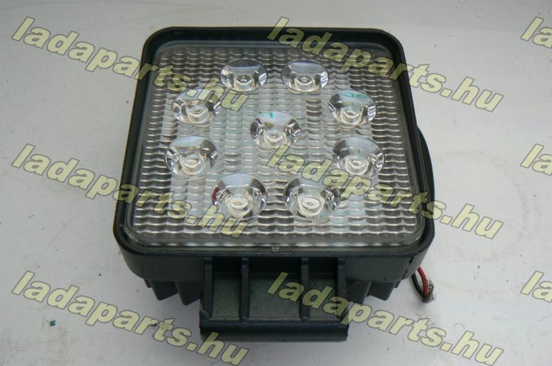 Ködfényszóró (munkalámpa) fehér 9 LEDes 110x110